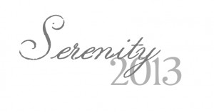 Serenity: Word for 2013