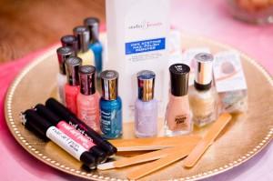 Colorblock Nail Art Party