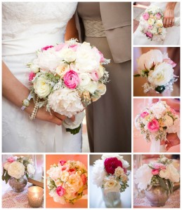 Vintage Wedding Blush and Gold
