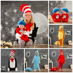 Family Halloween Costumes and Truffula Tree Treats