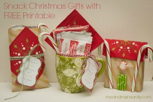 Hot Cocoa and Popcorn Teacher Gifts with Printable