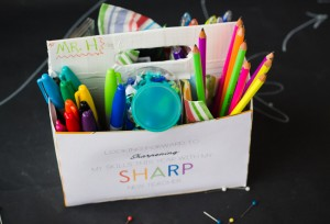 Sharp Sharpie Teacher Gift