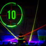 Glowing Neon Laser Tag Party
