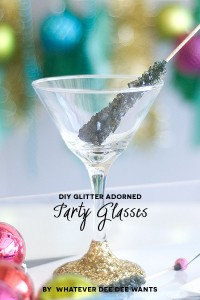 Season to Sparkle pt. 5: Glittering Glasses and Scatter Sparkle